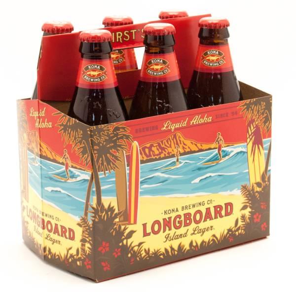 Kona Brewing Co. Longboard Lager 6 Pack