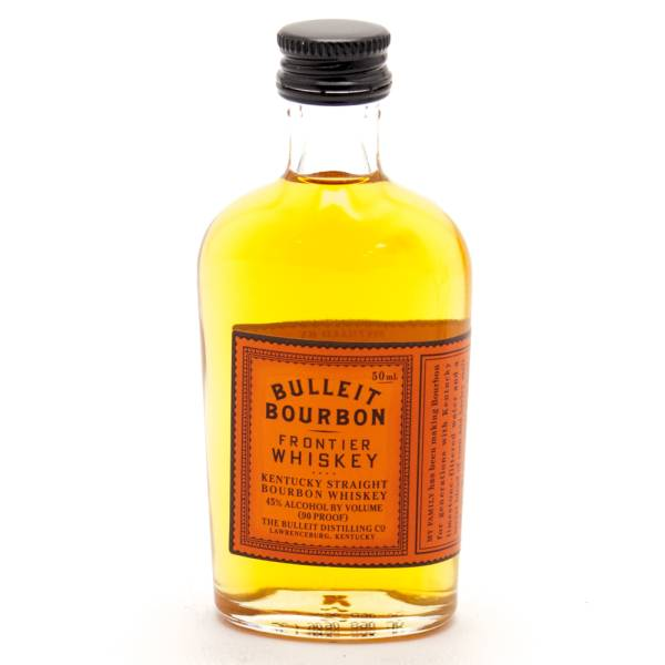 Bulleit Bourbon Frontier Whiskey Mini 50ml