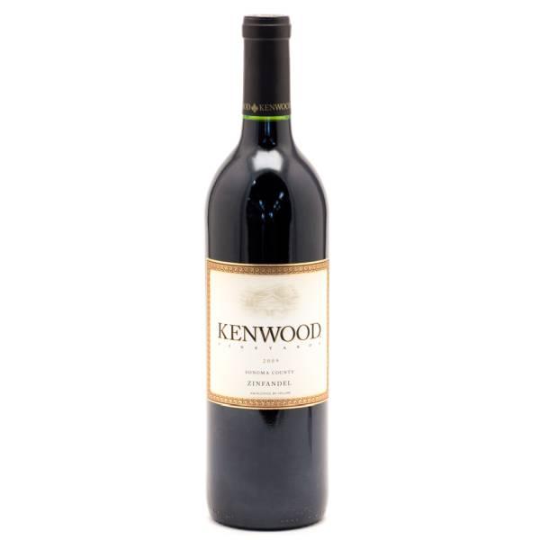 Kenwood 2009 Zinfandel 750ml Beer Wine And Liquor