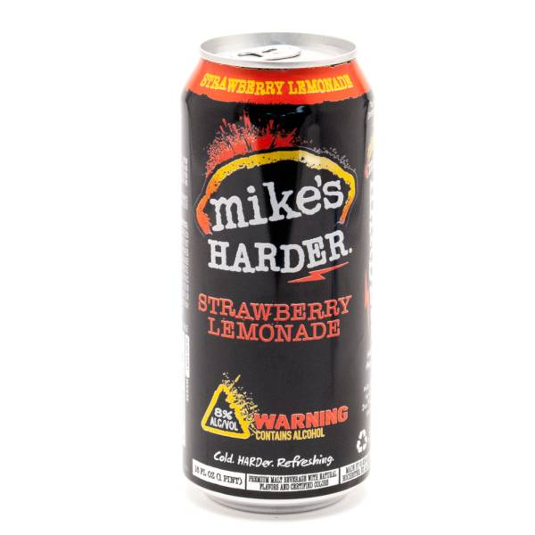 Mike's Hard Lemonade -Harder Strawberry Lemonade 16oz