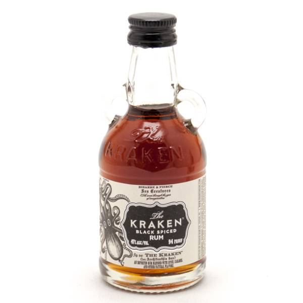 The Kraken Black Spiced Rum Mini 50ml