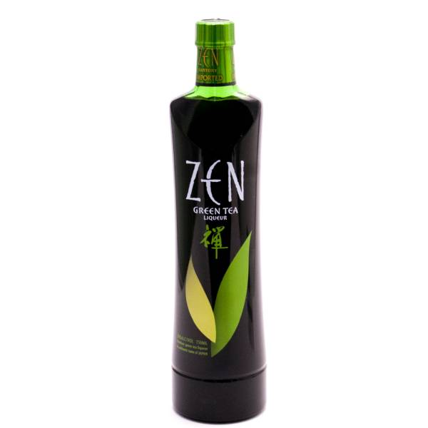 ZEN Green Tea Liqueur - 20% ACL - 750ml