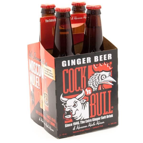 Cock & Bull Ginger Beer - 12oz 4 Pack