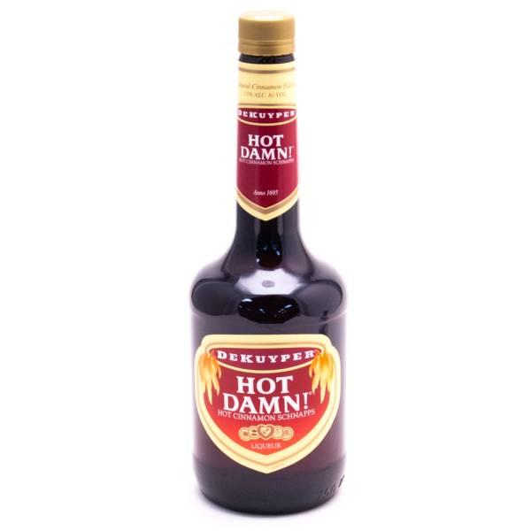 Dekuyper Hot Damn Hot Cinnamon Schnapps - 30 Proof - 750ml