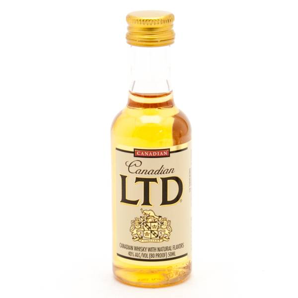 Canadian LTD Whiskey Mini 50ml