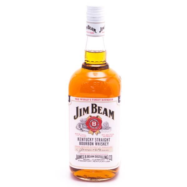Jim Beam Bourbon Whiskey 80 Proof 750ml