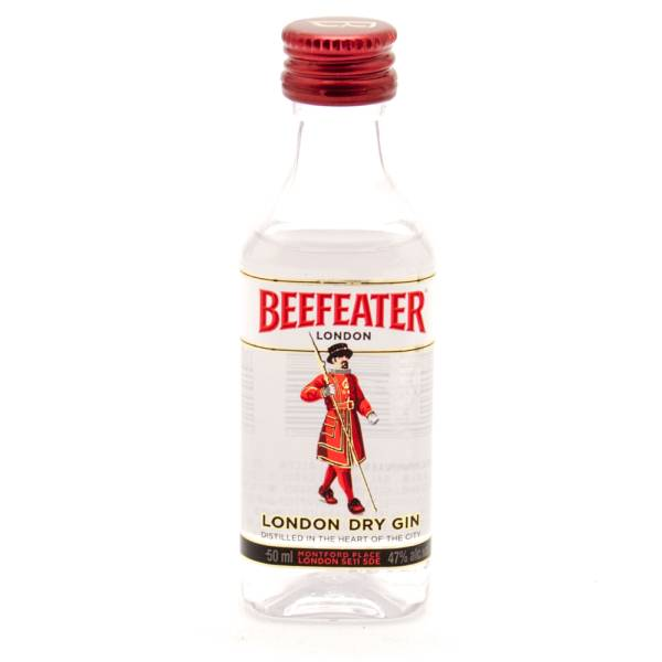 Beefeater London Dry Gin Mini 50ml Beer Wine And Liquor