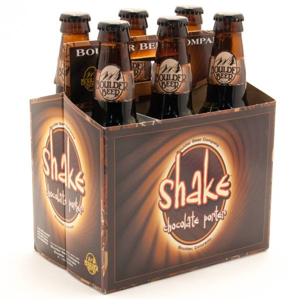 Boulder Shake Chocolate Porter - 6 Pack