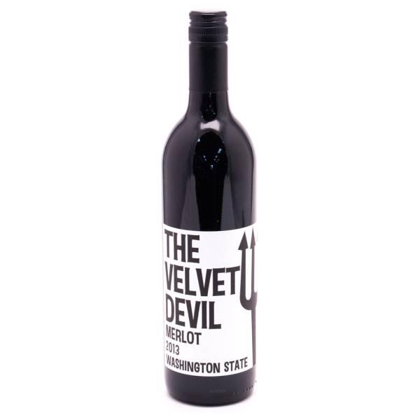 The Velvet Devil Washington State Merlot - 13.5% ACL - 750ml