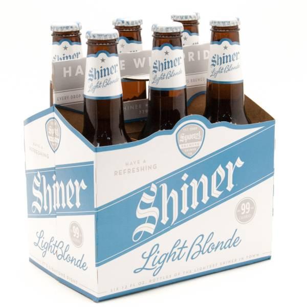 Shiner Light Blonde 6 Pack Beer Wine And Liquor