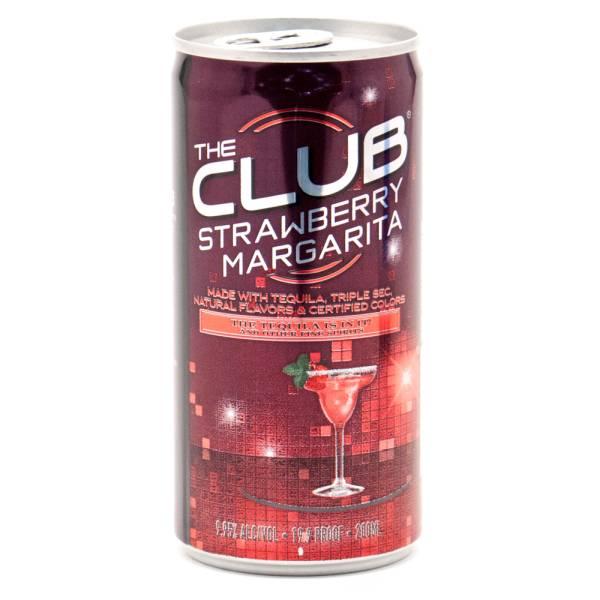 The Club Stawberry Margarita 200ml