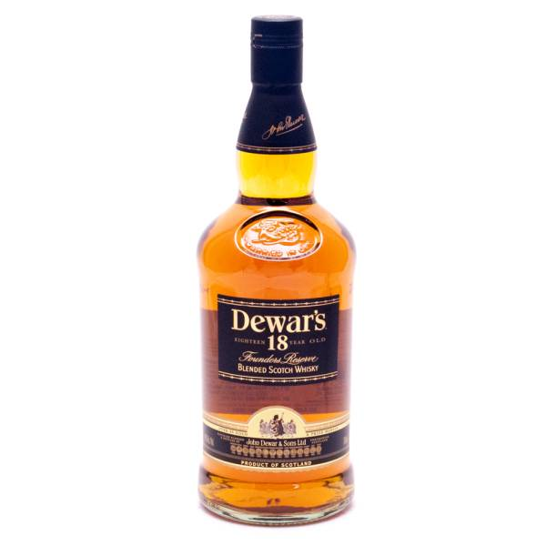 Dewar's 18 Years Old Founders Reserve Blended Scotch Whiskey - 40% ALC - 750ml