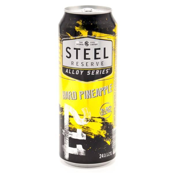 Steel Reserve Hard Pineapple Malt Beverage 24oz