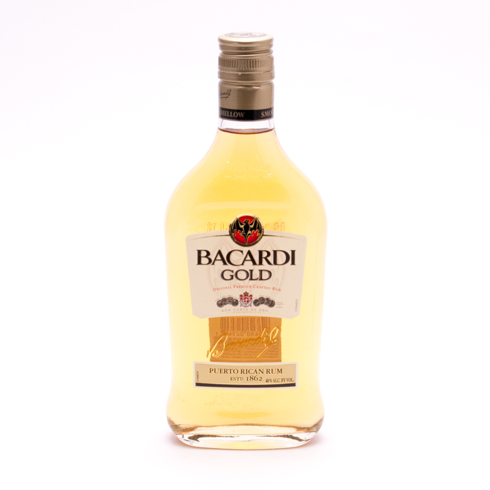 Bacardi Gold Original Premium Crafted Rum - 40% ACL -375ml