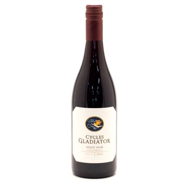 Cycles Gladiator 2012 Pinot Noir 750ml