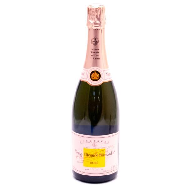 Veuve Clecqot Ponsardin Rose Brut Champagne 12.5 Alc. 750ml