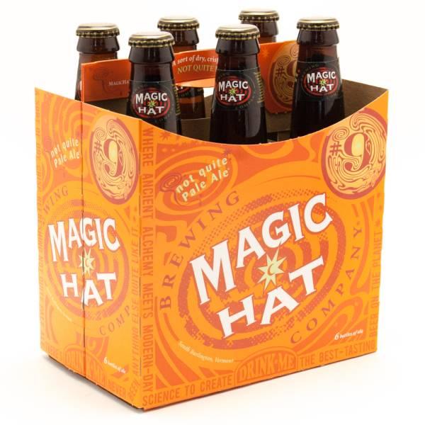 Magic Hat Brewing Company - Not Quite Pale Ale - 12oz Bottle - 6 Pack