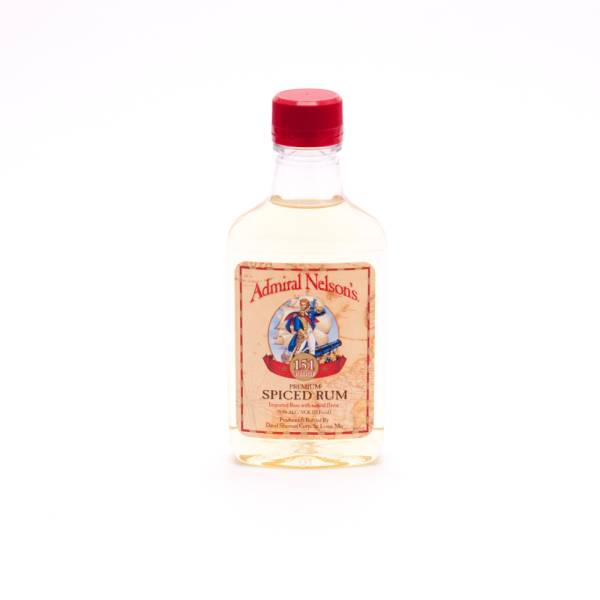 Admiral Nelson's Premium Spiced Rum - 75.5% ACL - 200ml