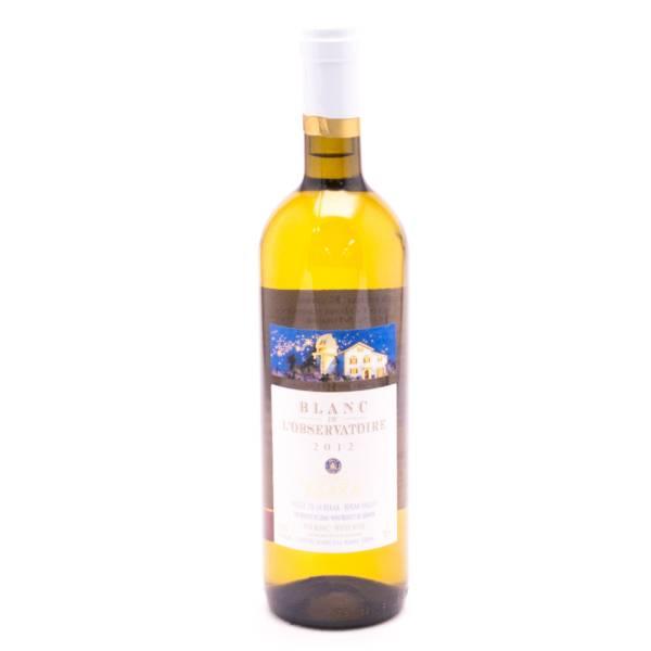 KSARA Blacn De L'observatoire Chateau  White Wine - 12.5% ACL - 750ml