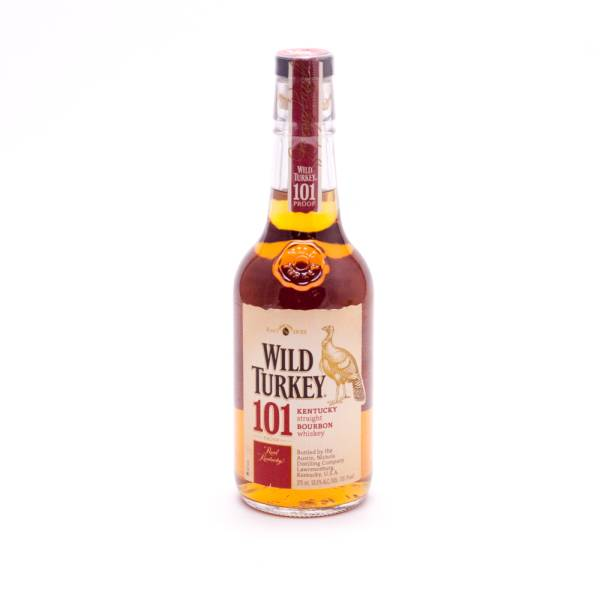 Wild Turkey Kentucky Straight Bourbon Whiskey - 101 Proof - 375ml