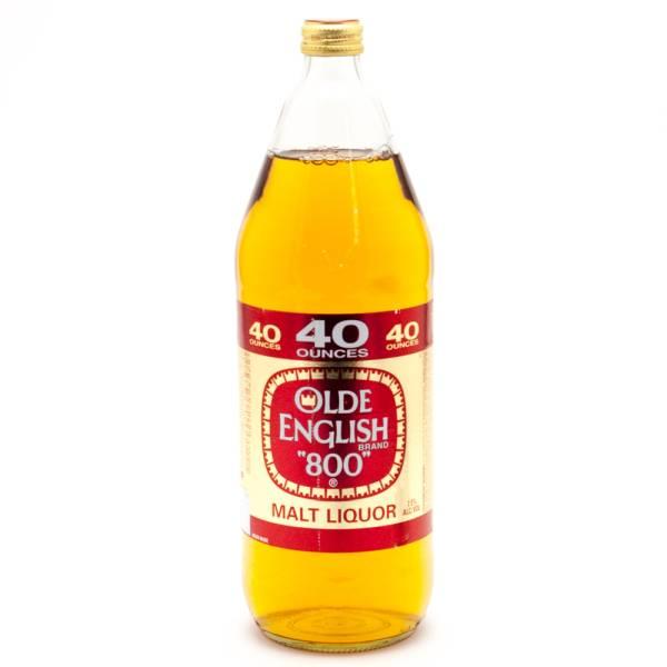 Olde English 800 Malt Liquor 40oz | Beer, Wine and Liquor ...