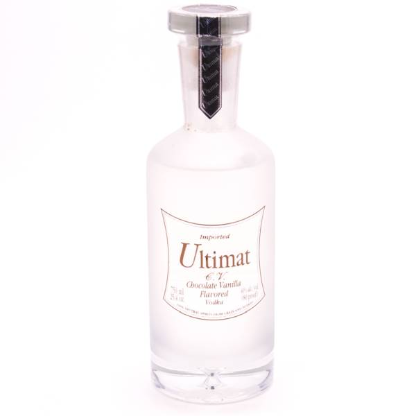 Ultimate C.V. Chocolate Vanilla Flavored Vodka - 80 Proof - 750ml ...