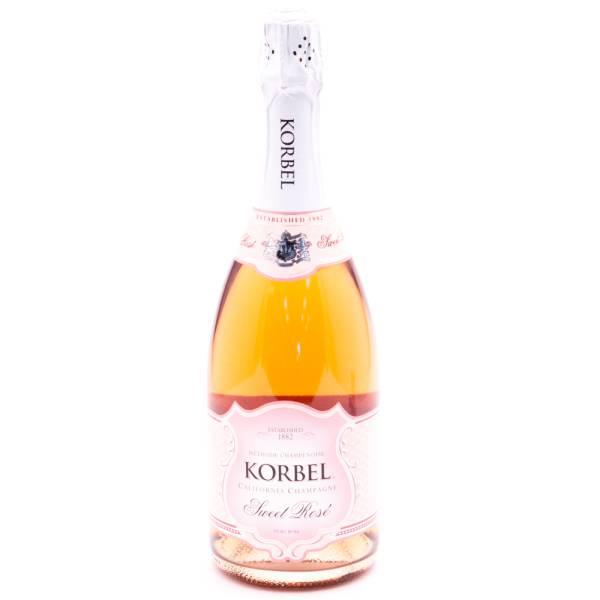 Korbel California Champagne Sweet Rose' - 11% ACL - 750ml