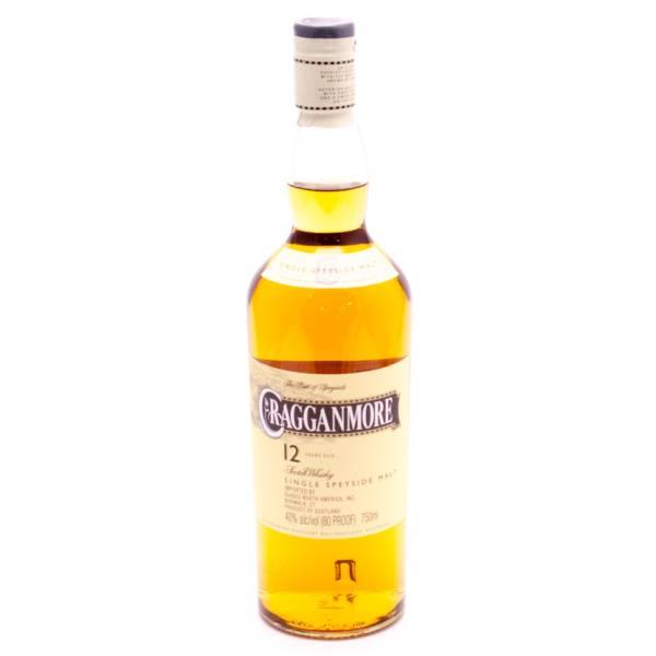 Cragganmore Scotch Whiskey 12yrs Old 750ml