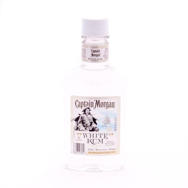 Captain Morgan White Rum - 80 Proof - 200ml