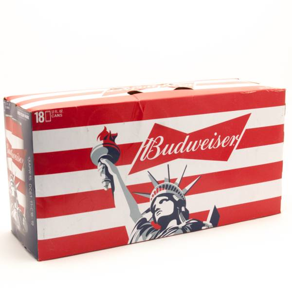 Budweiser 18 Pack Cans Case Beer Wine And Liquor