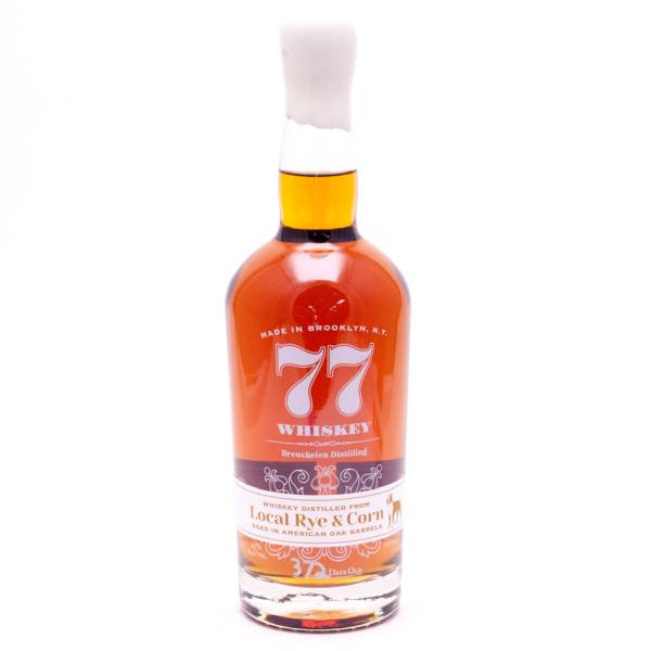 77 Whiskey Local Rye & Corn 45% Alc. 750ml
