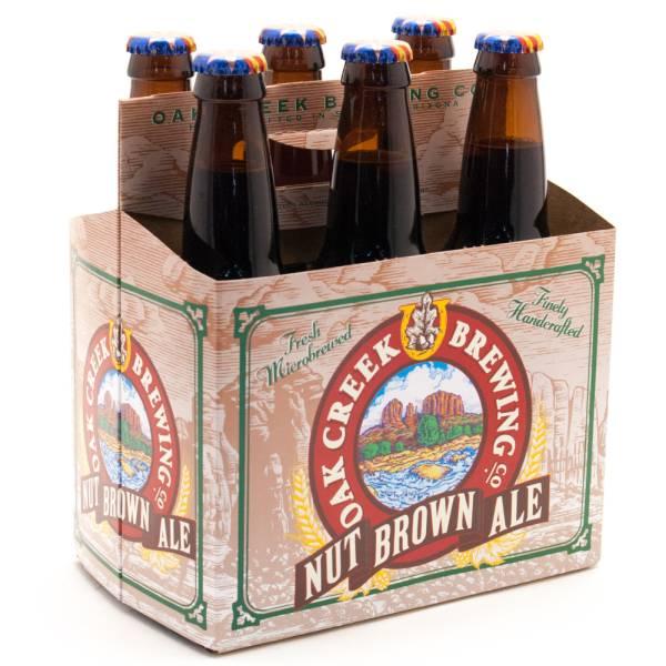 Oak Creek Brewing Co - Nut Brown Ale - 6 Pack