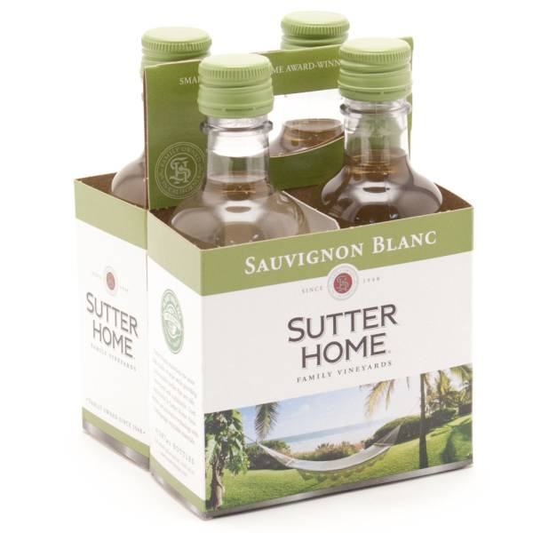 Sutter Home Sauvignon Blanc - 187ml - 4 Pack