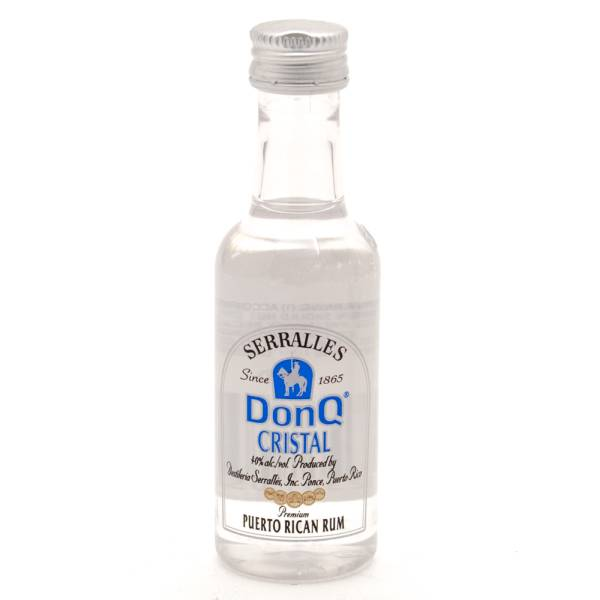 Don Q Cristal Rum Mini 50ml