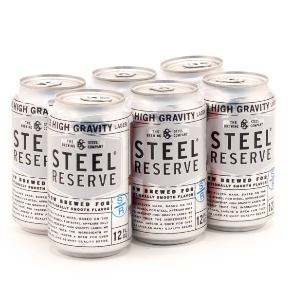 Steel Reserve - 6 Pack Cans