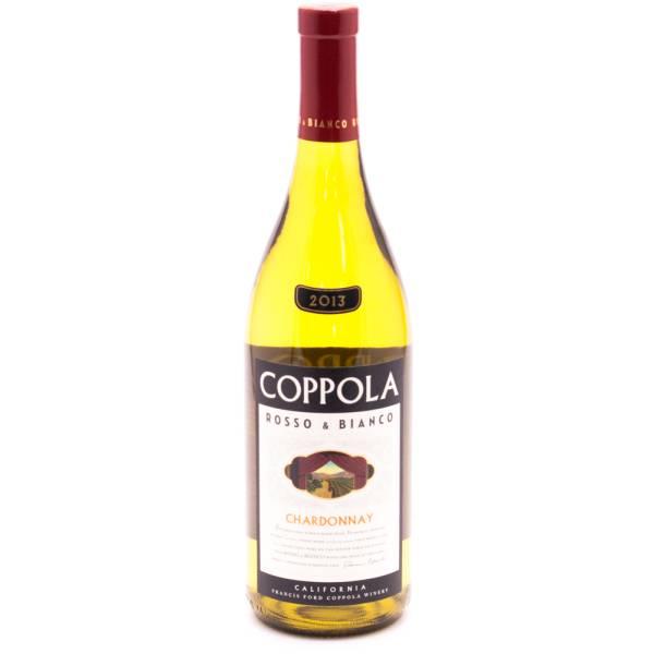 COPPOLA Rosso & Bianco Chardonnay - 13.5% ACL - 750ml