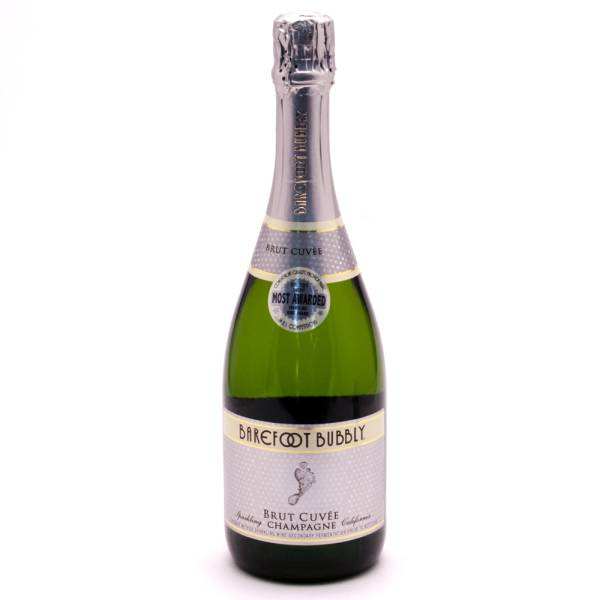 Barefoot Bubbly Brut Champagne 750ml