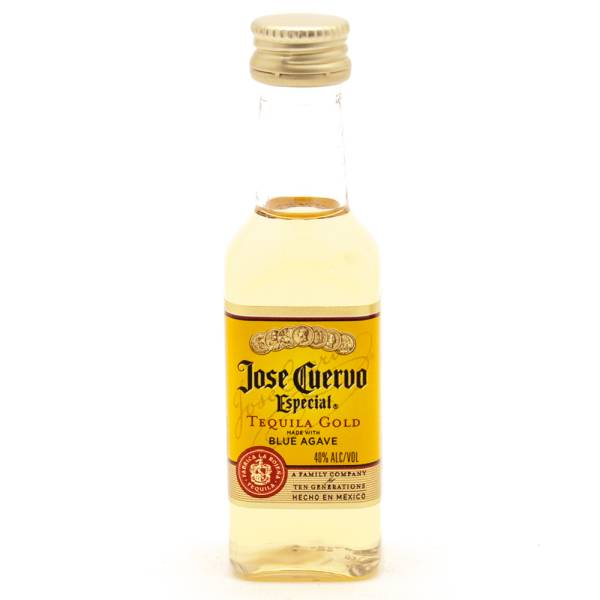 Jose Cuervo Especial Tequila Gold Mini 50ml