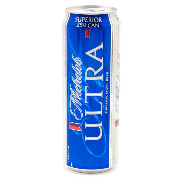 Michelob Ultra Light Beer 25oz Beer Wine And Liquor