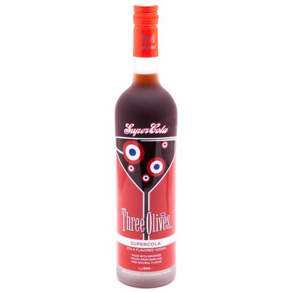 Three Olives Super Cola Flavored Vodka 70 Proof 750ml