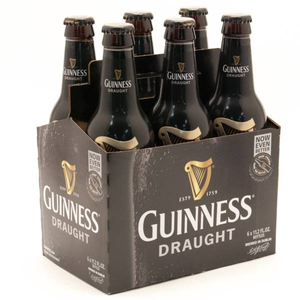 Guiness Draught 6 Pack