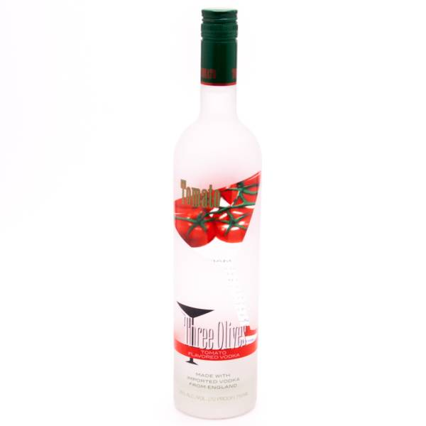 Three Olives Tomato Flavored Vodka - 70 Proof - 750ml
