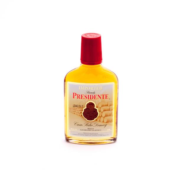 Brandy Presidente Casa Pedro Domecq - 40% ALC - 200ml