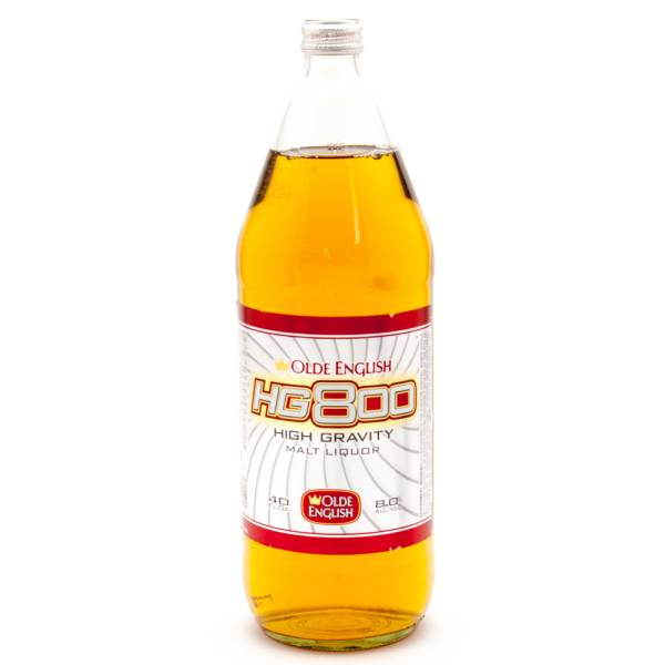 Olde English HG800 High Gravity Malt Liquor 40oz