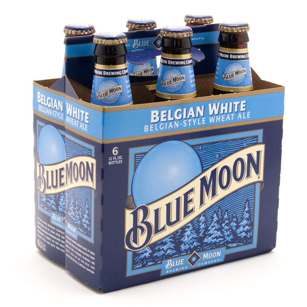Blue Moon Belgian White Wheat Ale - 6 Pack