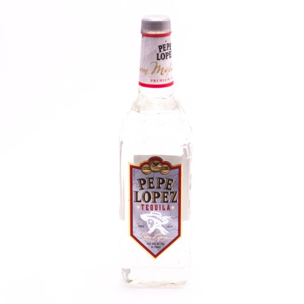 Pepe Lopez Tequila Premium Silver - 80 Proof - 750ml