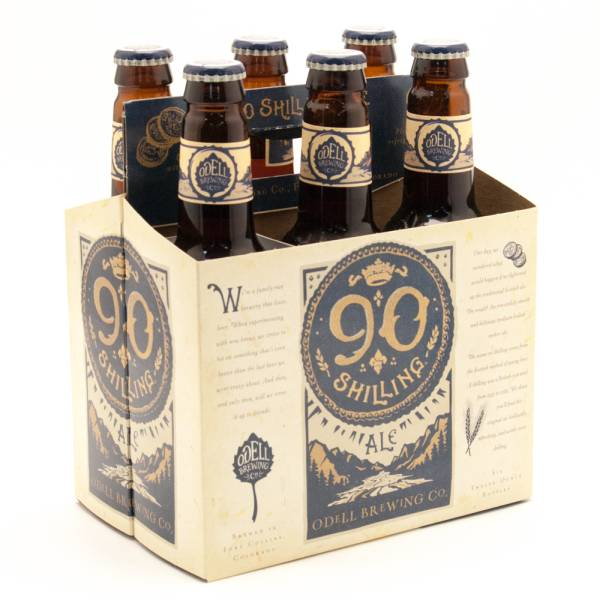 Odell Brewing Co - 90 Shiling Ale 6 Pack