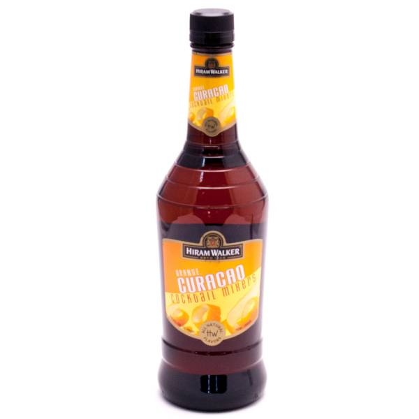 Hiram Walker Orange Curacao 30 Proof 750ml