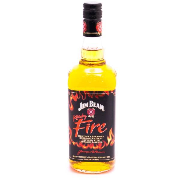 Jim Beam Kentucky Fire Whiskey 70 Proof 750ml