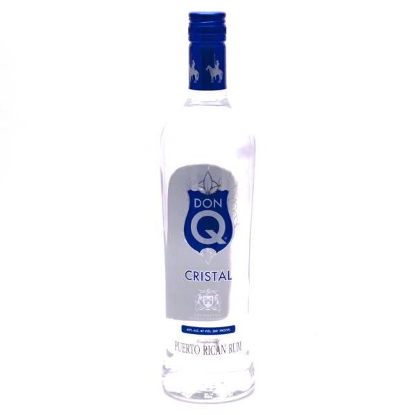Don Q Cristal Puerto Rican Rum 80 Proof 750ml